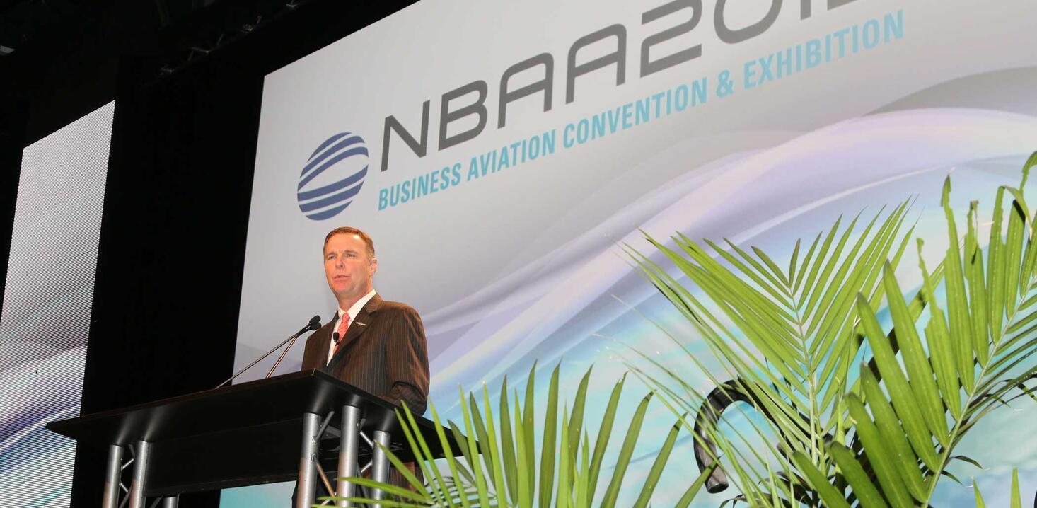 NBAA president Ed Bolen