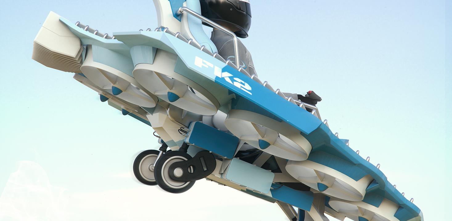 Trek Aerospace's FlyKart 2