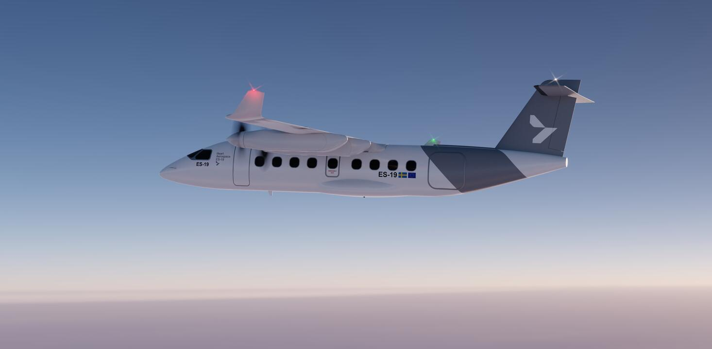 Heart Aerospace ES-19 electric regional airliner