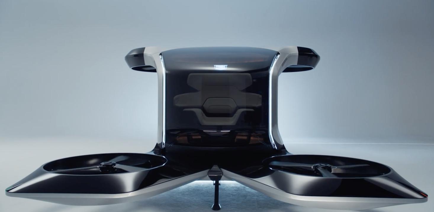 General Motors personal air vehicle