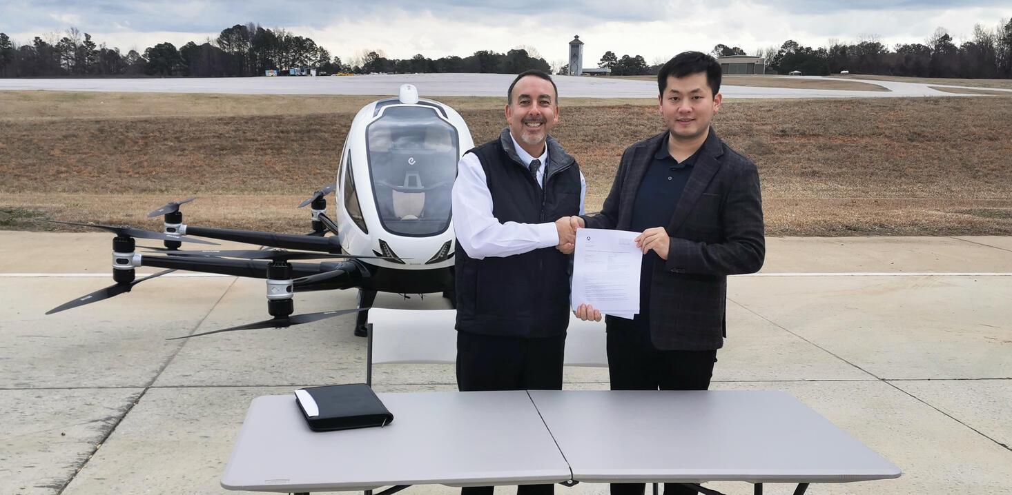 FAA EHang