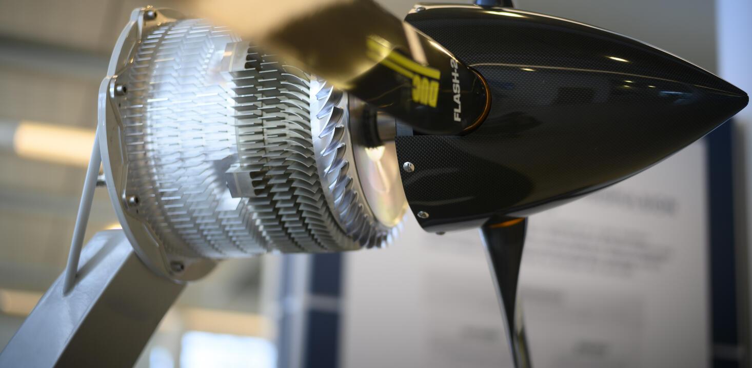Safran electric motors