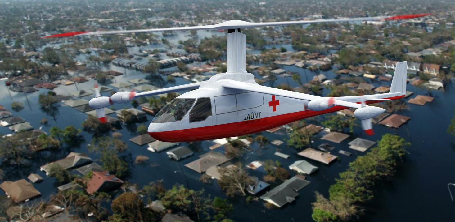 Jaunt Air Mobility's Jambulance