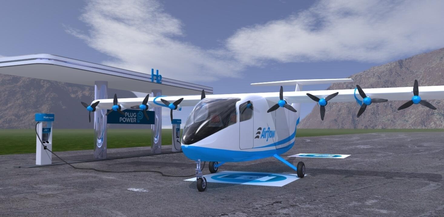 Airflow eSTOL aircraft.