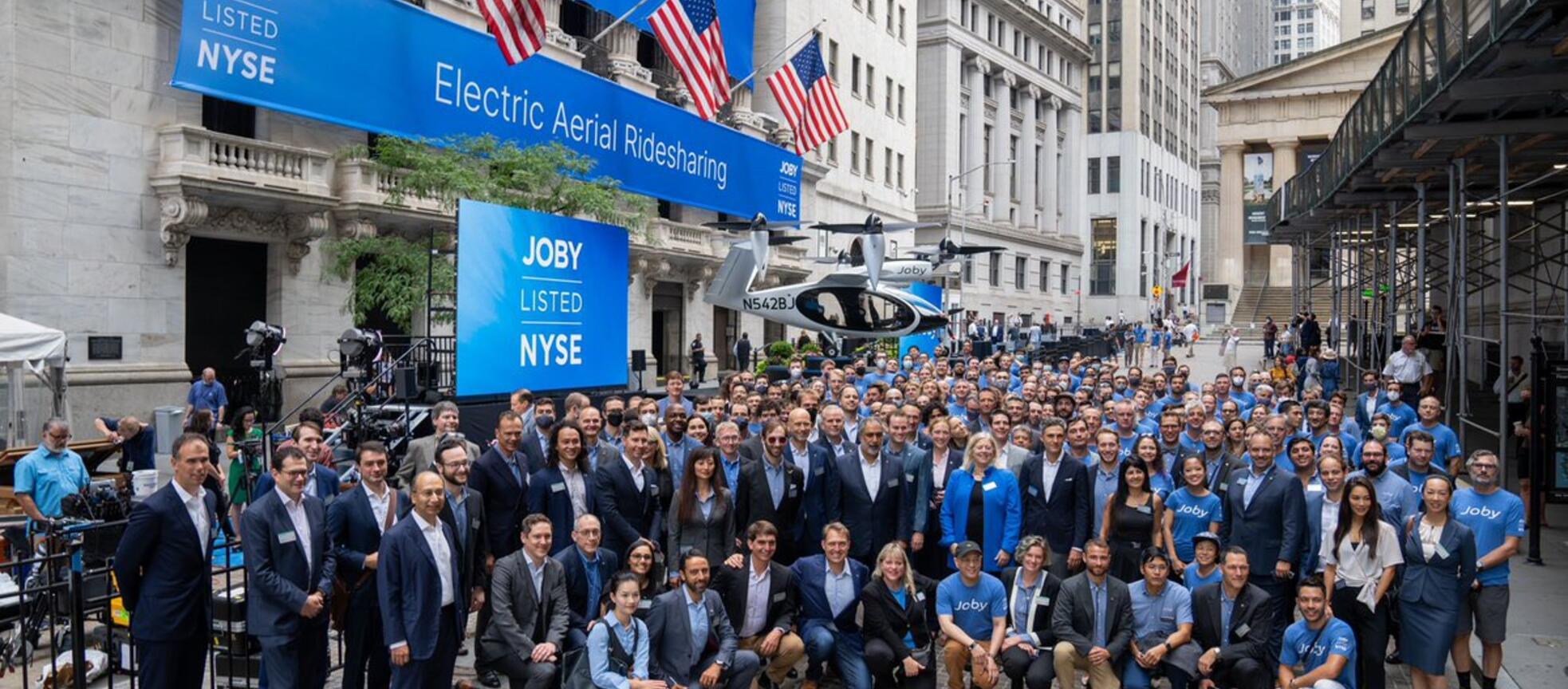 Joby on Wall Street