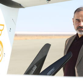 Samad Aerospace CEO Seyed Mohseni