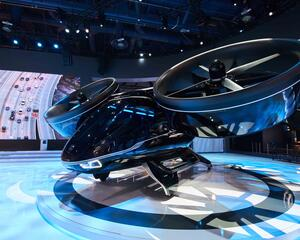 Bell unveiled its Nexus eVTOL prototype in January 2019.