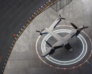 Karem Aircraft's design for the Butterfly air taxi eVTOL aircraft.