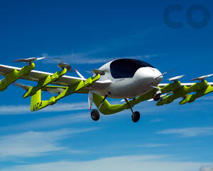 Cora eVTOL flight testing in New Zealand.