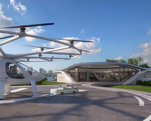 Volocopter intends to operate its 2X eVTOL aircraft out of