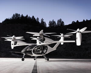 Joby Aviation S4 eVTOL aircraft.