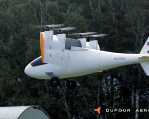 Dufour aEro 3 eVTOL aircraft