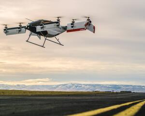 Airbus Vahana eVTOL technology demonstrator