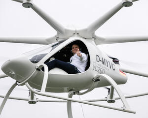 Volocopter achieved a first manned flight of its 2X eVTOL prototype back in 2011.