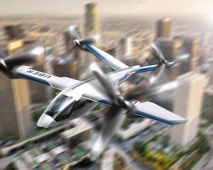 """Karem's """"Butterfly,"""" an eVTOL aircraft concept"""