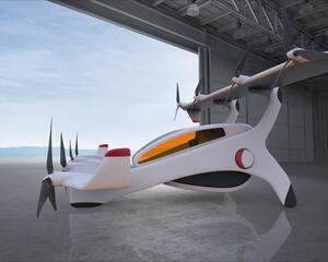 Neoptera Aero's eOptera 4 eVTOL aircraft