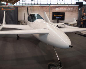 AutoFlightX V600 unveiling at Aero Friedrichshafen in April 2019