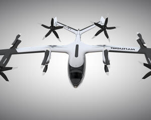 Hyundai's S-A1 eVTOL personal air vehicle.