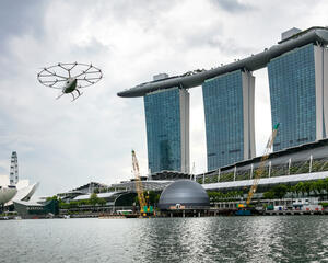 Volocopter Singapore demonstration flight