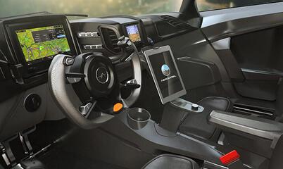 AeroMobil 4.0 Interior 2