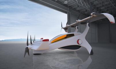 Neoptera Aero eOpter eVTOL aircraft side view