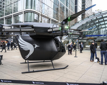 Vertical Aerospace's Seraph eVTOL technology demonstrator