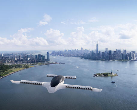 Lilium Jet over New York