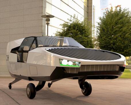 Urban Aeronautics' CityHawk eVTOL