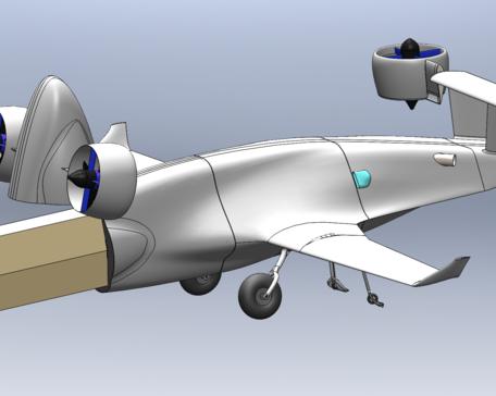 Sabrewing Rhaegal cargo eVTOL aircraft