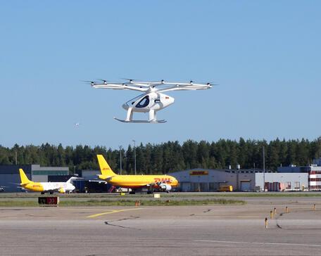 Volocopter 2X eVTOL aircraft