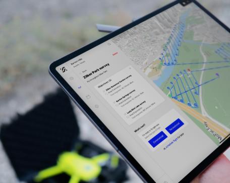 SkyGrid Flight Control app