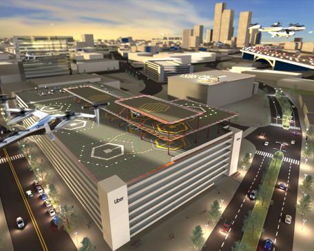 Uber Elevate skyport