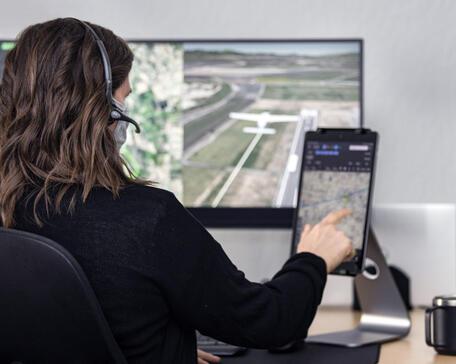 Reliable Robotics remote pilot