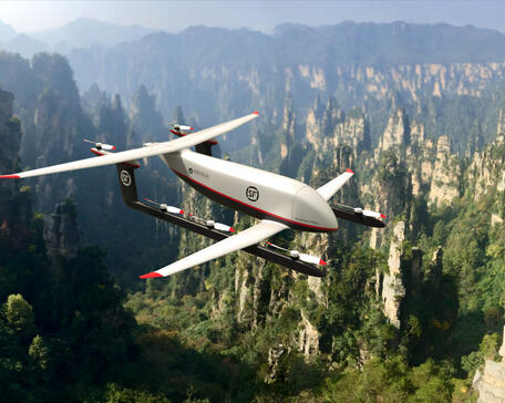 Pipistrel SF Express Amazilia drone
