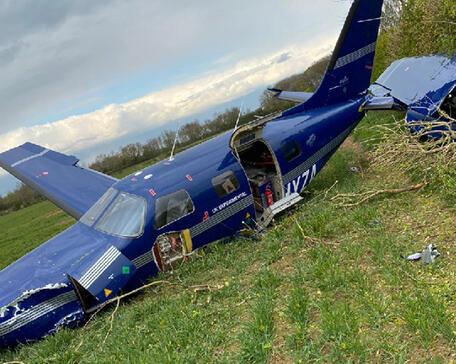 ZeroAvia Piper crash