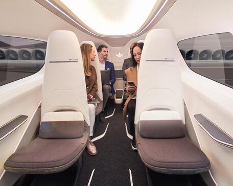 Lilium Jet interior