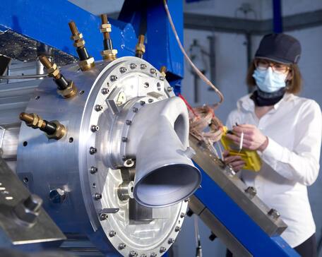 Rolls-Royce hybrid-test