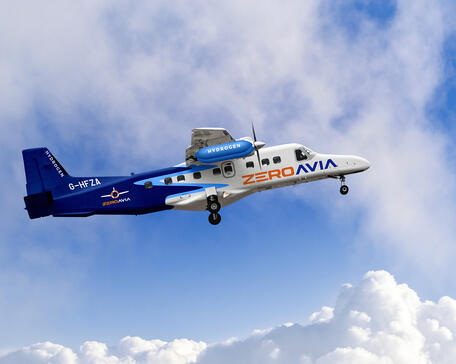 ZeroAvia hydrogen-powered Dornier 228