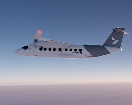 Heart Aerospace ES-19 electric regional airliner