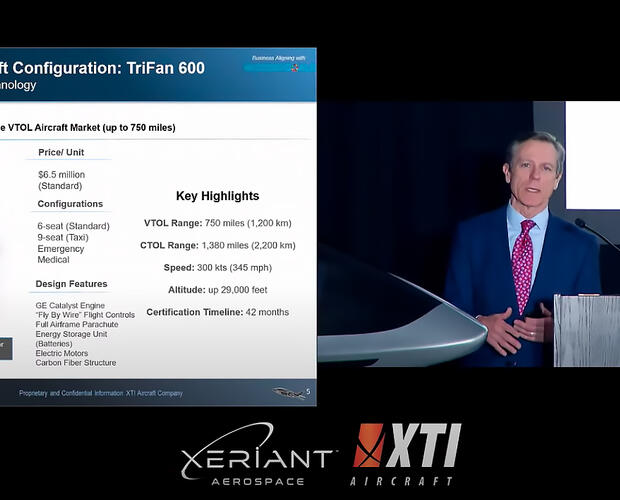 XTI Aircraft press conference