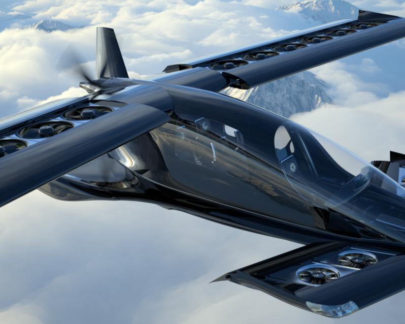 Horizon Aircraft Cavorite X5 (rendering)